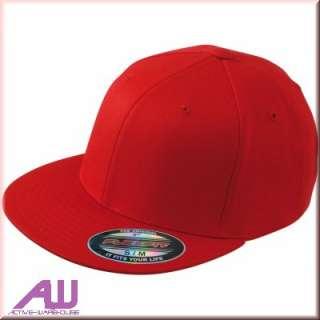 Original Flexfit Flatpeak Hip Hop Cap rot L/XL