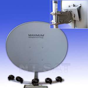 MAXIMUM T 85 Multifocus Multifeed, Antenne E85 T85 E 85