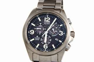 CITIZEN AS4030 59E PROMASTER LAND ECO DRIVE PILOT FUNK CHRONO TITAN
