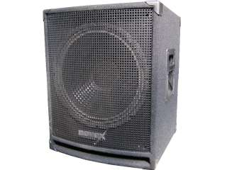 PA DJ Event Party Subwoofer 38 cm 1000 Watt Novex Bass