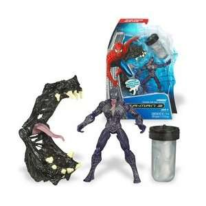 Spider Man Ooze Attack Action Figure   Venom with Trap