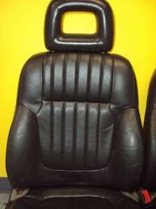 1998 Pontiac Grand Prix Black Leather Front Seat HEATED