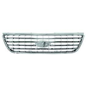 IPCW CWG FD3907A0C Ford Explorer Chrome Grille Automotive