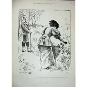 1896 Man Woman Country Romance Comedy Scene Marriage Home & Kitchen