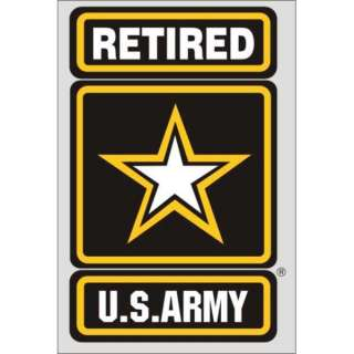 US United States Army Retired Decal Weatherproof   The Best Or Your