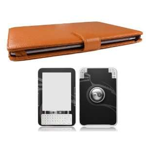 Bundle Monster Kindle 3/Kindle Keyboard Synthetic Leather Case Cover