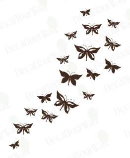 Butterfly Set Pack Wall Art Decals Vinyl Stickers Decor