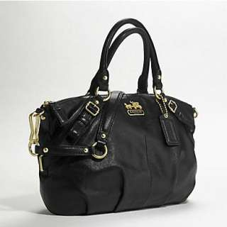 NWT COACH Chelsea Madison Sophia Leather Satchel shoulder bag $358