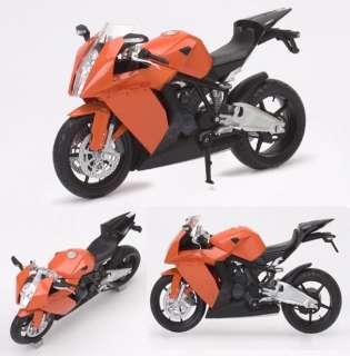 12 KTM RC8 Racing Motor Bike Motorcycle Model 2 Color for Choose
