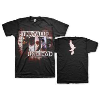 HOLLYWOOD UNDEAD FACE TO FACE ADULT TEE SHIRT S 2XL