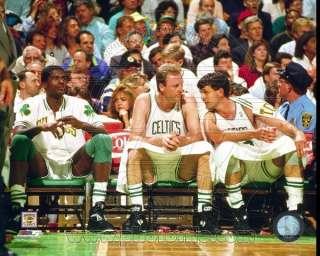 Boston Celtics Larry Bird, Robert Parrish, Kevin McHale