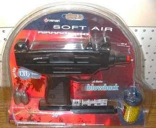 Rare Black Version Crosman M 50 Air Mag CO2 Blowback Airsoft UZI