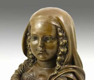 MODERN ART BRONZE SCULPTURE   MONA LISA   SIGNED BOTERO