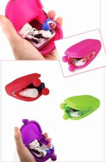 Jelly Pouch Wallet Purse Cover Card Holder Phone Mobile Key Coin