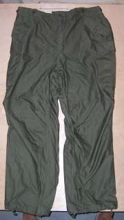US Army M1951 OD Green Trousers Extra Large Long 45 x 35