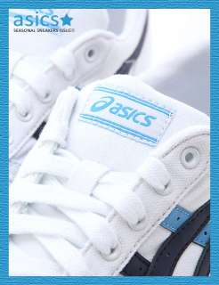 Brand New ASICS AARON CV Shoes White/Blue #84D