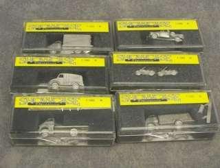 50+ 160 N Scale Model Railroading Accessories  Trucks + Cars