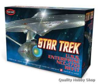 1000 Star Trek USS Enterprise NCC 1701 Refit#POL820