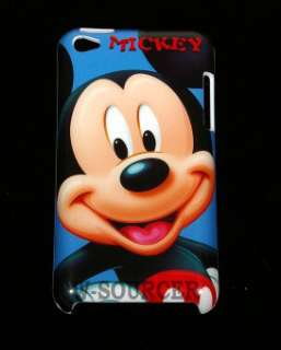 Disney Mickey Mouse Hard Back Cover Case For Apple iPod Touch 4th