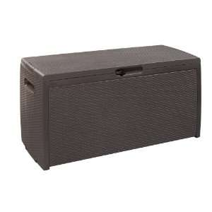 Keter Xl Rattan Style 105 Gallon Deck Box 17186993