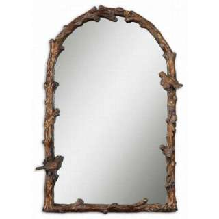 26 In. X 37 In. Antique Gold Arch Framed Mirror 13774 at The Home