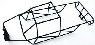 Maxx 4908 or 4907 Black Powder Coated Full Roll Cage