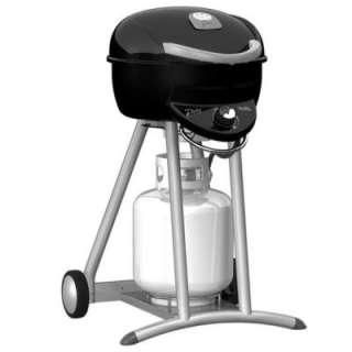Char Broil Gloss Black Patio Bistro TRU Infrared Propane Gas Grill