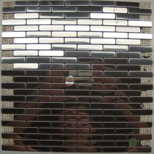 Neelnox Stainless Steel Metal Tile Mosaic Kitchen Z 18