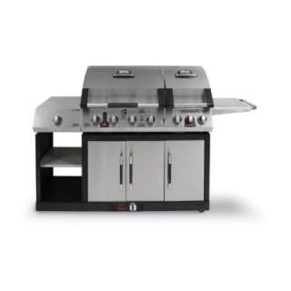 Brinkmann Vertex Sear 6 Burner Dual Fuel Gas Grill 810 3885 SC at The
