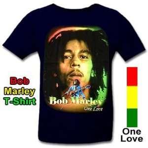 Bob Marley T Shirt  Sport & Freizeit