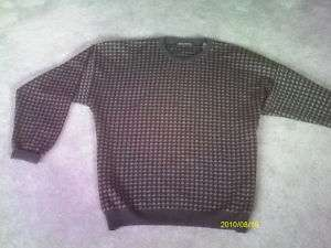 rugged look MENS PULLOVER SWEATER  BRANDINI size XL