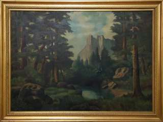 HILL (1871   1922) WESTERN MOUNTAINS. EARLY CALIFORNIA OIL