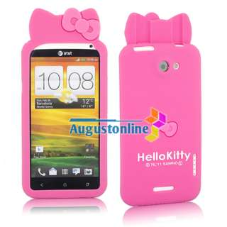 Cute Hello Kitty Silicone soft Skin Case Cover For HTC One X S720e Hot
