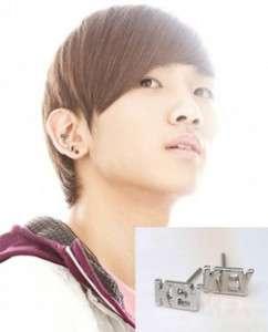 Korea DBSK sinnger drama SHINee Key Font Earrings DE23