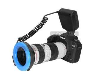 RF 550D 48pcs marco circular ring LED flash light f Canon Nikon Pentax