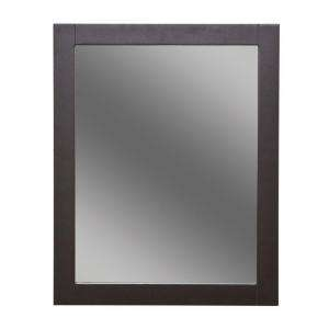 St. Paul Del Mar 24 in. W Framed Wall Mirror in Espresso DMWM2430COM E