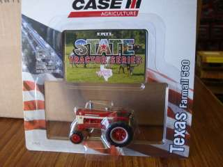 ERTL 1:64 CASE IH FARMALL 560 State Series TEXAS ON SALE!