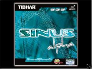 Tibhar Sinus Alpha Rubber table tennis ping pong blade