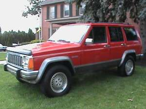 1996 Jeep Cherokee Country SUV Sporty Red 4x4 Automatic Research 1996
