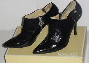 MICHAEL Michael Kors   Patent Leather Ankle Boots   Size 9