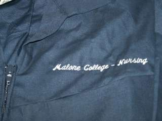 MALONE COLLEGE (Ohio) NURSING   Mens SCRUBS Top LG NWT