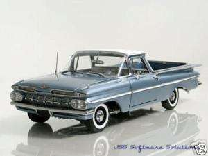 1959 Chevy El Camino in Frost Blue w/gray Int. by WCPD