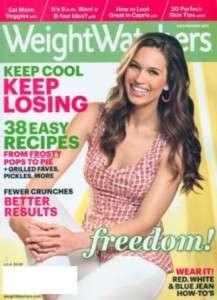 new Weight Watchers Magazine July August 2011 vol 44 4