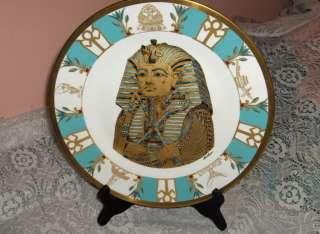 Boehm China King Tut Tutankhamen Plate Cairo Museum