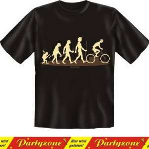 Lustiges Fun T Shirt: Homo Stupidus: Radfahrer   Inkl. GRATIS