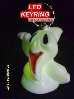 Ghost Light Flash Keyring,Halloween Party Props,KYM073