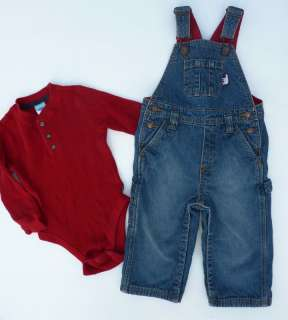 21 pc. GAP Gymboree Boy Fall Shirts Jeans Overalls Clothing Clothes
