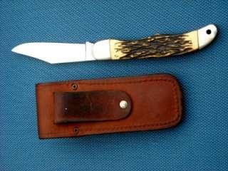 Schrade + USA 127UH Uncle Henry Pocket Knife & Orig Case