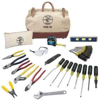 Klein Tools 28 Piece Electrician Tool Set 80028