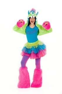 15252 UGGSY Tween Girls Monster Halloween Costume Princess Paradise